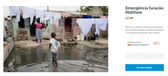 Colaboramos com Haiti