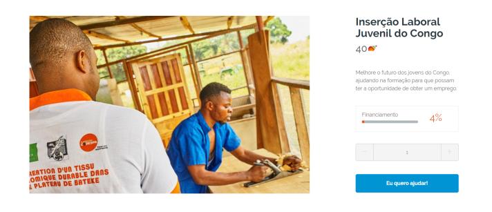 Inserção Laboral Juvenil do Congo - Nicequest solidário